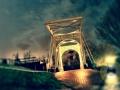Ferry Krauweel maakte deze mooie Foto van de Brug in Strijen Sas op vrijdag avond 14 februari.