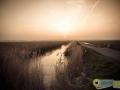 Zonsondergang Waleweg in Strijen - Mary Romijn Fotografie