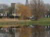 leuke spiegelbeeld foto van Strijen gespiegeld in de Keen - Gerhard Monkhorst