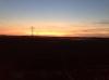 Zonsondergang Keizersdijk het uitzicht blijft een feest - Monika Vinke