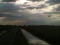 Rondje Waleweg op een zomerse avond in Strijen - Foto's Margo Den Boer