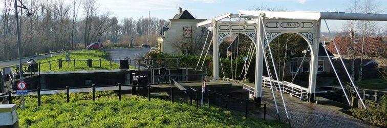 Sassebrug week dicht vanwege werkzaamheden dijkversterking