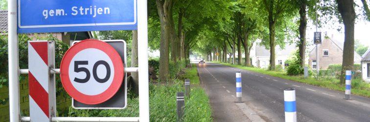 Dijk in Mookhoek krijgt nieuwe asfaltlaag