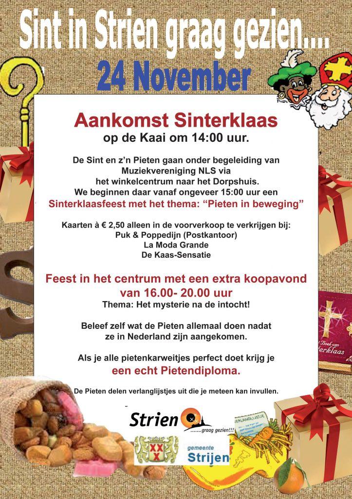 Sint Poster 2012 Strijen Info